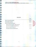 Báo cáo tài chính năm 2014 (đã kiểm toán) - Công ty Cổ phần Nhiệt điện Bà Rịa