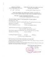 Báo cáo tài chính quý 3 năm 2013 - Công ty cổ phần Xuất nhập khẩu An Giang