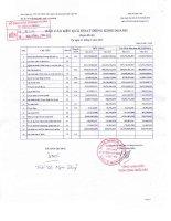 Báo cáo KQKD công ty mẹ quý 1 năm 2013 - Công ty Cổ phần Xây dựng và Kinh doanh Vật tư