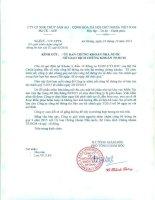 Báo cáo tài chính quý 3 năm 2015 - Công ty Cổ phần Xuất nhập khẩu Thủy sản An Giang