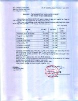 Báo cáo tài chính hợp nhất quý 3 năm 2013 - Tổng Công ty Cổ phần Bảo Minh