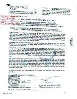 Báo cáo KQKD hợp nhất quý 2 năm 2012 (đã soát xét) - Công ty Cổ phần Chế biến và Xuất nhập khẩu Thuỷ sản Cà Mau