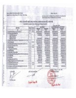 Báo cáo KQKD quý 3 năm 2012 - Công ty Cổ phần Chế biến và Xuất nhập khẩu Thuỷ sản Cà Mau