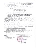 Báo cáo tài chính năm 2014 (đã kiểm toán) - Công ty cổ phần Xi măng Vicem Bút Sơn