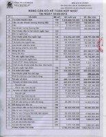 Báo cáo tài chính hợp nhất quý 3 năm 2013 - Công ty Cổ phần Xây dựng 47