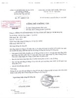 Nghị quyết Hội đồng Quản trị ngày 26-10-2009 - Công ty cổ phần Đầu tư Hạ tầng Kỹ thuật T.P Hồ Chí Minh