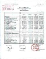 Báo cáo tài chính công ty mẹ quý 2 năm 2013 - Tổng Công ty Cổ phần Bảo Minh
