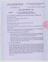 Nghị quyết Hội đồng Quản trị - Công ty cổ phần Đầu tư Hạ tầng Kỹ thuật T.P Hồ Chí Minh