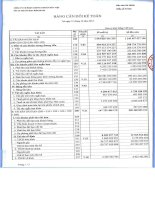 Báo cáo tài chính quý 4 năm 2013 - Công ty Cổ phần Chứng khoán Bảo Việt