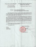 Báo cáo tài chính hợp nhất quý 3 năm 2015 - Tổng Công ty Cổ phần Bảo hiểm Ngân hàng Đầu tư và phát triển Việt Nam