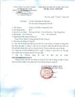 Báo cáo tài chính hợp nhất quý 3 năm 2014 - Công ty Cổ phần Xi măng Bỉm Sơn