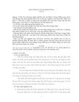 NGHIÊN CỨU VỀ HÀNH VI VÀ THÁI ĐỘ CỦA NGƯỜI TIÊU DÙNG ĐỐI VỚI SẢN PHẨM CLEAR BẠC HÀ