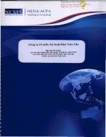 Báo cáo tài chính công ty mẹ quý 2 năm 2013 (đã soát xét) - Công ty cổ phần Kỹ thuật điện Toàn Cầu