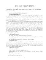 Báo cáo thường niên năm 2013 - Công ty Cổ phần Sách Đại học - Dạy nghề