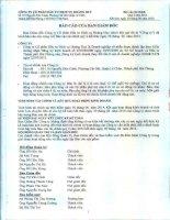 Báo cáo tài chính quý 2 năm 2014 - Công ty Cổ phần Đầu tư Dịch vụ Hoàng Huy