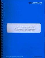 Báo cáo tài chính năm 2010 (đã kiểm toán) - Công ty Cổ phần Dược phẩm Hà Tây