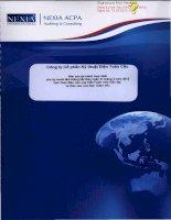Báo cáo tài chính hợp nhất năm 2012 (đã kiểm toán) - Công ty cổ phần Kỹ thuật điện Toàn Cầu