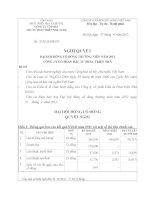 Nghị quyết Đại hội cổ đông thường niên năm 2012 - CTCP Đầu tư Phát triển nhà HUD2