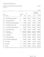 Báo cáo KQKD hợp nhất quý 1 năm 2013 - Công ty Cổ phần Hoàng Anh Gia Lai