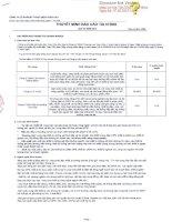 Báo cáo tài chính công ty mẹ quý 3 năm 2012 - Công ty cổ phần Kỹ thuật điện Toàn Cầu