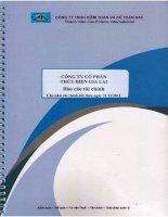 Báo cáo tài chính năm 2011 (đã kiểm toán) -  Công ty Cổ phần Thủy điện Gia Lai