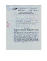 Nghị quyết Hội đồng Quản trị ngày 10-05-2011 - Công ty Cổ phần Chứng khoán Hòa Bình