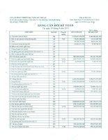 Báo cáo tài chính công ty mẹ quý 3 năm 2015 - Công ty Cổ phần Phát triển Hạ tầng Kỹ thuật