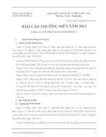Báo cáo thường niên năm 2011 - Công ty Cổ phần Hãng sơn Đông Á