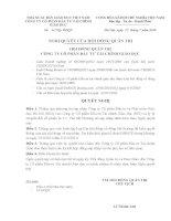 Nghị quyết Hội đồng Quản trị ngày 22-7-2010 - Công ty Cổ phần Đầu tư Tài chính Giáo dục