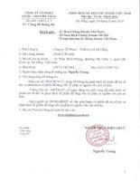 Nghị quyết Hội đồng Quản trị - Công ty Cổ phần Dược - Thiết bị Y tế Đà Nẵng