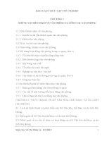 THỰC TRẠNG CÔNG tác QUẢN TRỊ văn PHÒNG tại PHÒNG QUY HOẠCH, PHÁT TRIỂN tài NGUYÊN DU LỊCH của sở văn hóa, THỂ THAO và DU LỊCH hải PHÒNG
