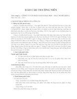 Báo cáo thường niên năm 2011 - Công ty Cổ phần Sách Đại học - Dạy nghề