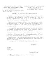 Nghị quyết Hội đồng Quản trị ngày 01-03-2011 - Công ty Cổ phần Đầu tư Tài chính Giáo dục