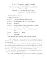 Báo cáo thường niên năm 2010 - Công ty Cổ phần Muối Khánh Hòa