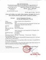Nghị quyết Hội đồng Quản trị - Công ty Cổ phần Vận tải và Xếp dỡ Hải An