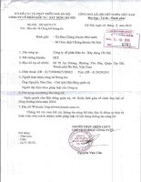 Nghị quyết Hội đồng Quản trị - Công ty Cổ phần Đầu tư - Xây dựng Hà Nội