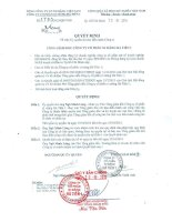 Báo cáo tài chính quý 3 năm 2015 - Công ty Cổ phần Xi Măng Hà Tiên 1