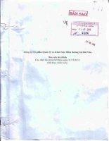 Báo cáo tài chính năm 2015 (đã kiểm toán) - CTCP Quản lý và Khai thác Hầm Đường Bộ Hải Vân