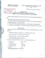 Nghị quyết Đại hội cổ đông thường niên năm 2011 - Công ty Cổ phần Đầu tư và Phát triển KSH
