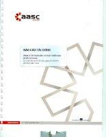 Báo cáo tài chính năm 2014 (đã kiểm toán) - Công ty cổ phần Đầu tư Phát triển nhà và Đô thị HUD 6
