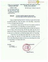 Báo cáo tài chính hợp nhất quý 3 năm 2014 - Công ty Cổ phần Tập đoàn Dabaco Việt Nam