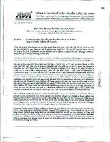 Báo cáo KQKD hợp nhất quý 2 năm 2011 (đã soát xét) - Công ty Cổ phần Chế biến Gỗ Thuận An