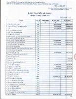 Báo cáo tài chính quý 4 năm 2015 - Công ty Cổ phần Đầu tư Thương mại Bất động sản An Dương Thảo Điền