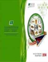 Báo cáo thường niên năm 2014 - Công ty Cổ phần Chế biến Gỗ Đức Thành