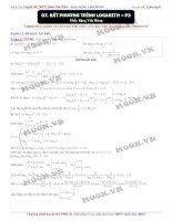 08 bat phuong trinh logarith p3 BG(2016S)