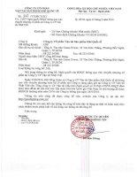 Nghị quyết Hội đồng Quản trị - Công ty cổ phần Vận tải Sản phẩm khí quốc tế