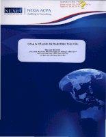 Báo cáo tài chính công ty mẹ năm 2013 (đã kiểm toán) - Công ty cổ phần Kỹ thuật điện Toàn Cầu