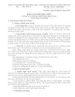 Báo cáo thường niên năm 2008 - Công ty Cổ phần Bê tông Hoà Cầm - Intimex