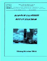 Báo cáo tài chính quý 4 năm 2010 - Công ty Cổ phần Hồng Hà Long An