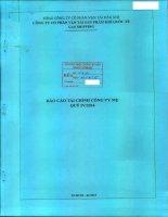 Báo cáo tài chính công ty mẹ quý 4 năm 2014 - Công ty cổ phần Vận tải Sản phẩm khí quốc tế